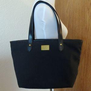 Lauren Ralph Lauren Black Shoulder Bag/Tote